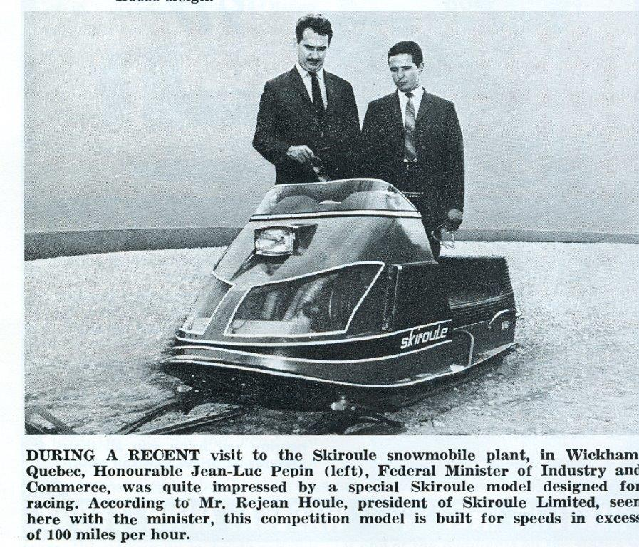 CLASSIC SNOWMOBILES OF THE PAST: 1970 SKIROULE RACING ...