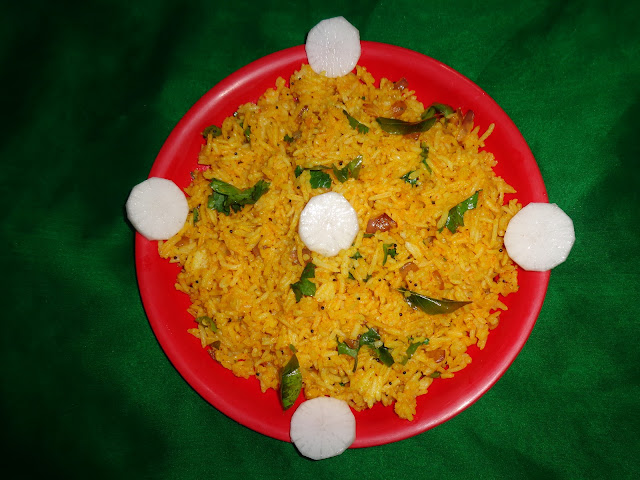 Fried Rice with garlic and onion