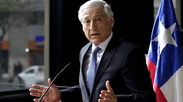 Canciller de Chile: Se hace difícil creer en una salida negociada