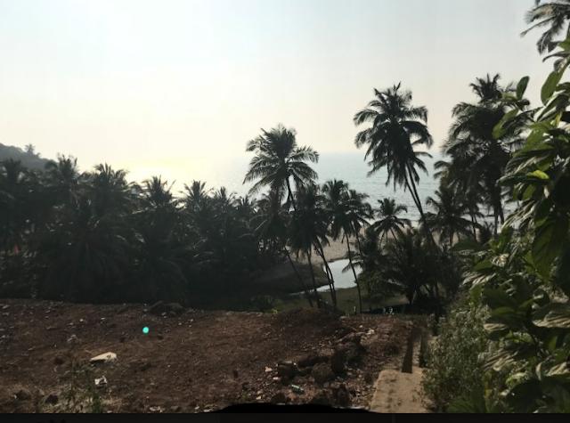 Ozran Beach in Goa
