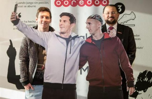 Ooredoo presenta al clon cibernético de Messi