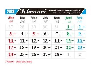 kalender-februari-2019-hari-hari-penting-nasional-dan-internasional-hari-libur-serta-tanggal-merah-tahun-baru-imlek-2570-Hari Lahan Basah Sedunia (Konvensi Ramsar) (Internasional) 2 februari-Hari Kanker Dunia (Internasional) 4 februari-Hari Peristiwa Kapal Tujuh Provinsi (Zeven Provincien) 5 februari-Tahun Baru Imlek 2570-5 februari-Hari Internasional Nol Toleransi Bagi Praktik Sunat Perempuan 6 februari-Hari Pers Nasional 9 februari-Hari Kavaleri 9 februari-Hari Persatuan Farmasi Indonesia 13 februari-Hari Valentine (Internasional) 14 februari-Hari Peringatan Pembela Tanah Air (PETA) 14 februari-Hari Pekerja Nasional 20 februari-Hari Bahasa Ibu (Internasional)  21 februari-Hari Istiqlal 22 februari