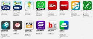 Aplicaciones para el mundial de fútbol