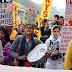 SOL छात्रों का दिल्ली के मुख्यमंत्री आवास पर प्रदर्शन