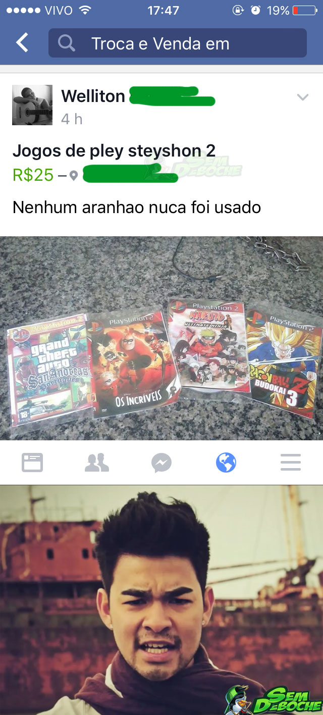 QUE VIDEO GAME É ESSE?