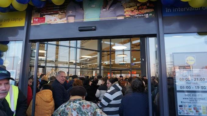 Joi a fost inaugurat magazinul LIDL din CALAFAT !