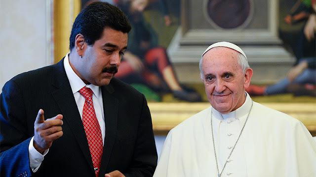 Maduro pide la mediación del papa para evitar que la oposición use a niños en las protestas