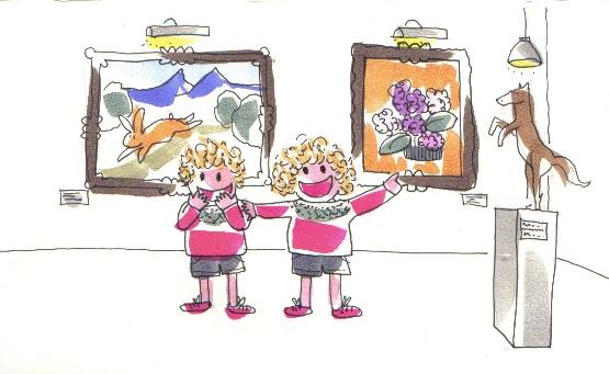 Cuento sobre la visita de unos niños al museo