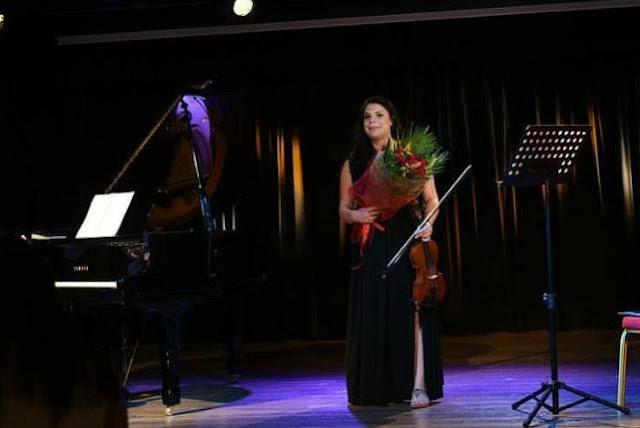 Δημοτικό Ωδείο Άργους Μυκηνών: Μας χάρισε πάλι χαρά και υπερηφάνεια η λαμπερή μας Έλενα Τσακίρη!