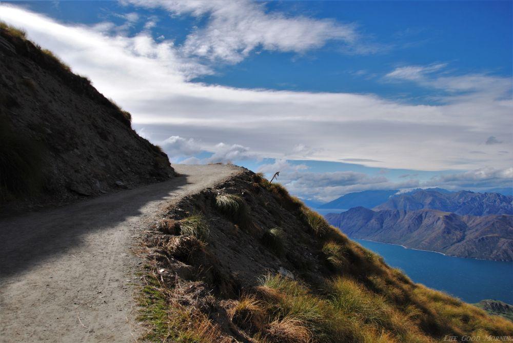 Roys Peak ( Nowa Zelandia) - niech to szlak.