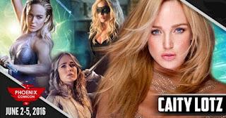 Phoenix Comicon 2016 - Caity Lotz