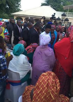 Photos: Kaduna governor-elect Elrufai at his 3rds wife