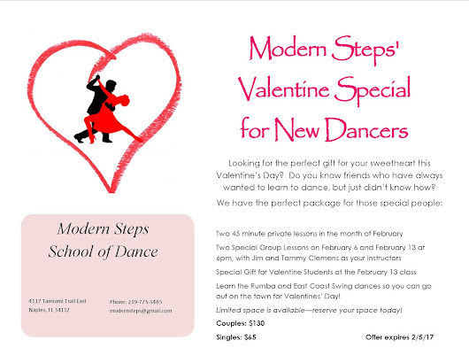 Valentine Special for New Dancers