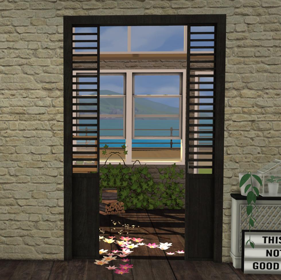 Sliding Doors The Sims 4: Pyschen Doors By Minc78