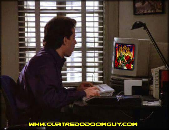 E se o Jerry Seinfeld jogasse Doom?