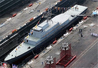 Iran Berencana Bangun Kapal Destroyer