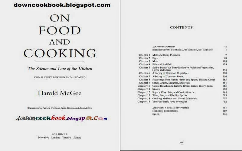 HAROLD MCGEE ON FOOD AND COOKING PDF DOWNLOAD : PDF Now!