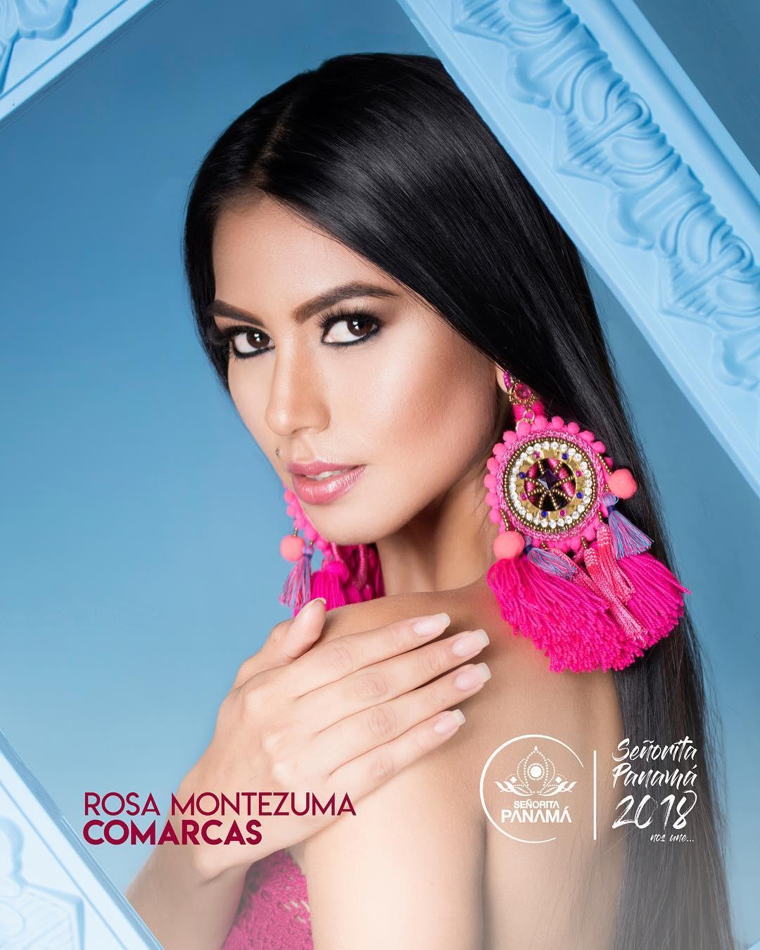 señorita miss colombia 2018 candidates candidatas contestants delegates Miss Comarcas Rosa Montezuma