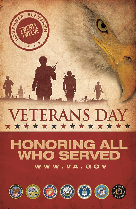 Wounded Bird Veterans Day 2012 Thank You