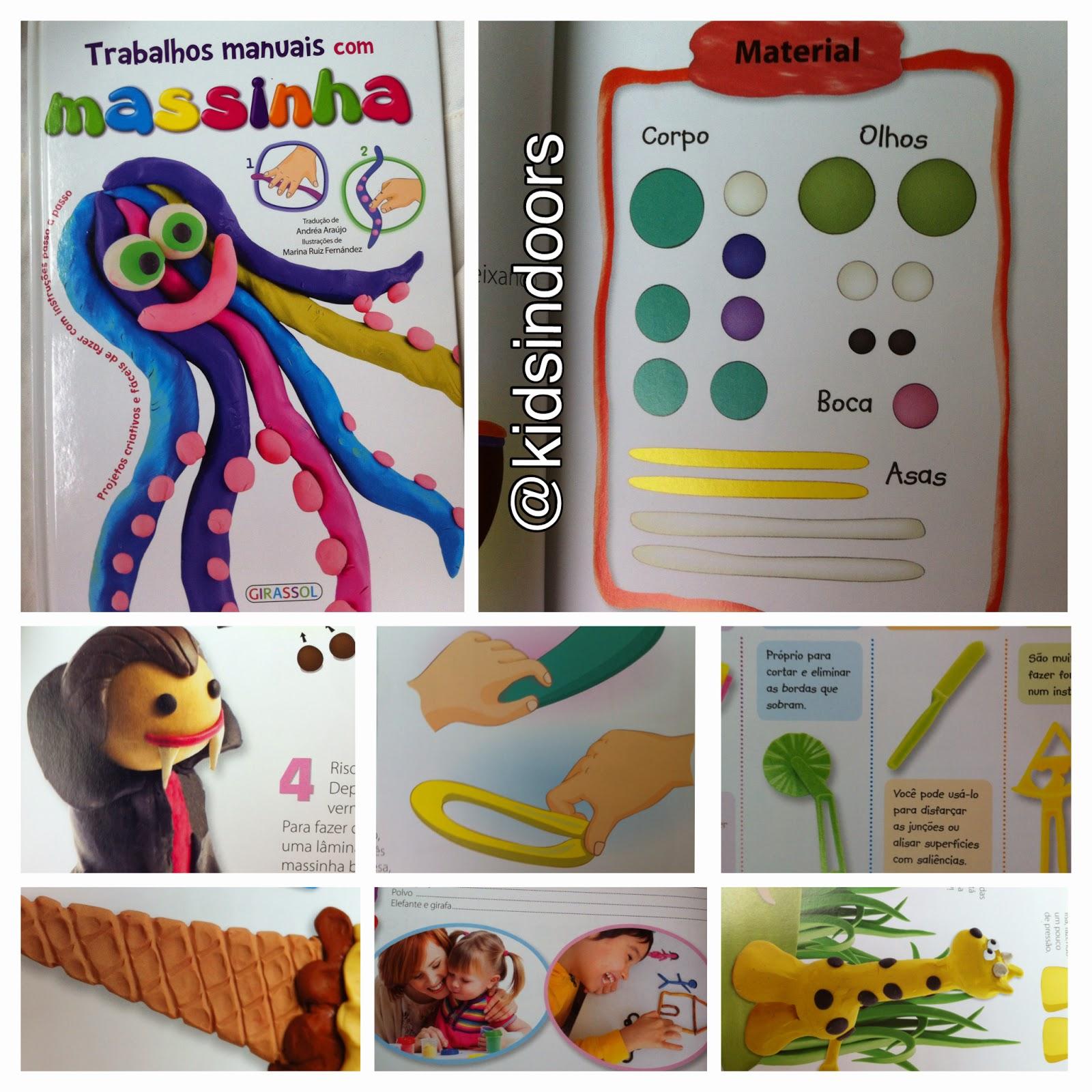 Extremamente Trabalhos Manuais com da Editora Girassol | KIDS INDOORS LF11