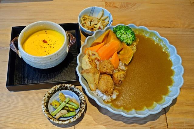 咖哩飯南瓜濃湯
