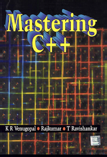 Mastering C++ By K. R. Venugopal : Download PDF www.freecomputerbookspdf.blogspot.com
