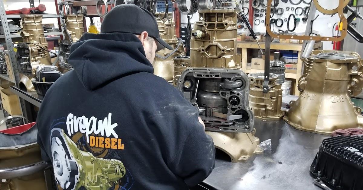 Toxic Diesel Performance : Firepunk Diesel 68RFE Swap to a 48RE