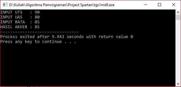 c++ prosedur void