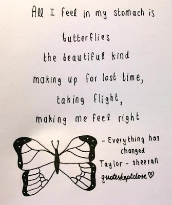 Imágenes De Butterfly In My Stomach Love Quotes