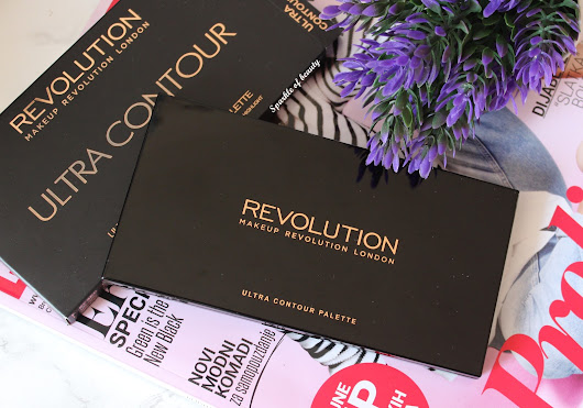 Sparkle of beauty: Makeup Revolution Ultra Contour paleta
