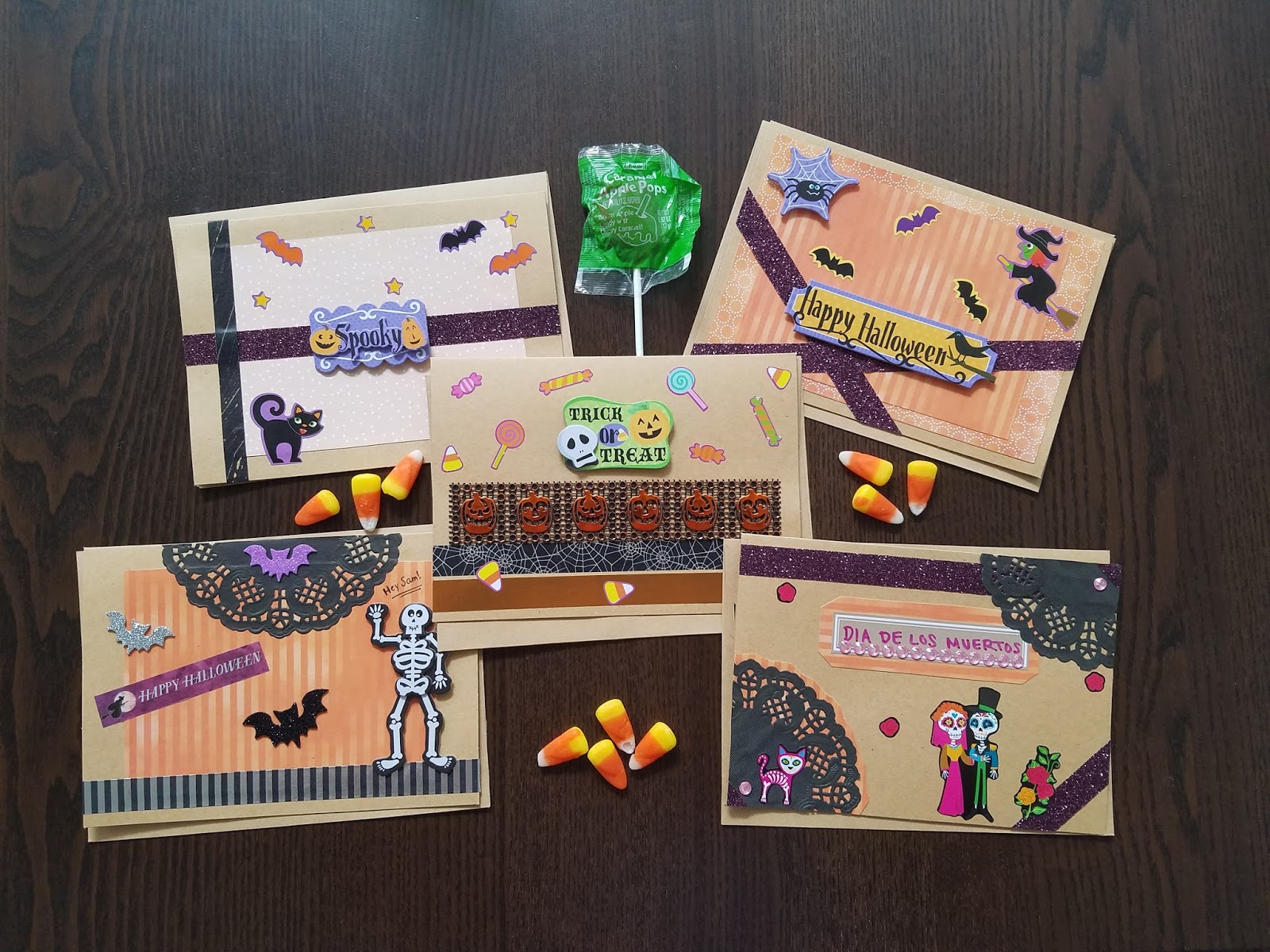 diy halloween cards handmade card ideas