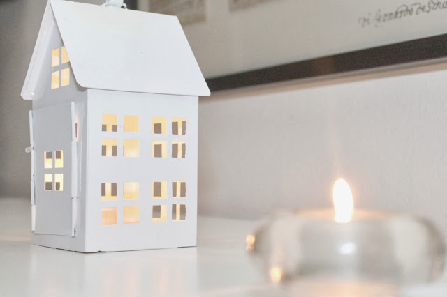 świecznik domek