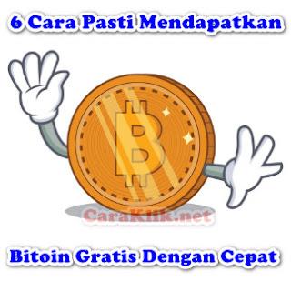 6 Cara Pasti Mendapatkan Bitcoin Gratis Dengan Cepat