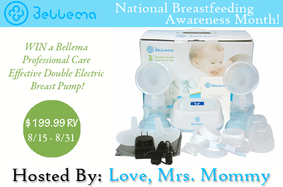 Bellema Professional Care Effective Double Electric Breast Pump Giveaway! $199.99 RV