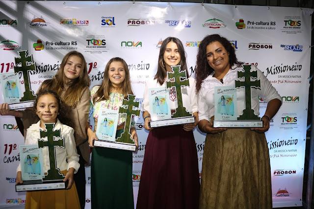 Conheça as composições vencedoras do 10º Canto Piá Missioneiro