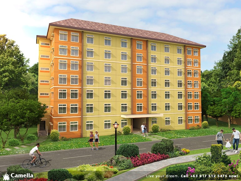 One (1) Bedroom 30 Sqm - Camella Condo Homes Bacoor| Camella Condominium for Sale in Bacoor Cavite