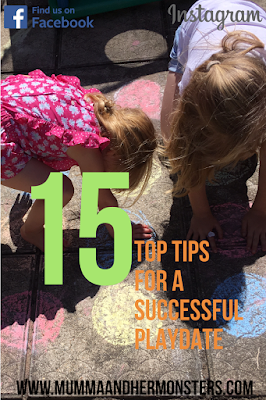 15 Top tips for a successful play date