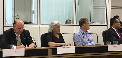 Diretor-presidente participa de reunião com ministro Gilberto Kassab sobre o projeto Biomas Tropicais