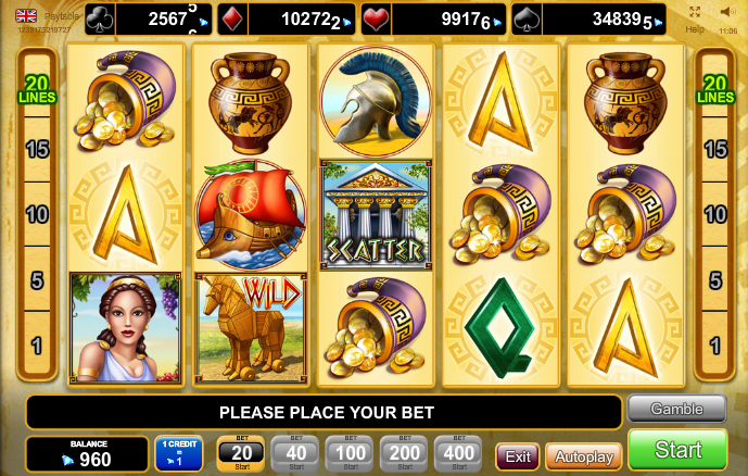 Jucat acum Age of Troy Slot Online