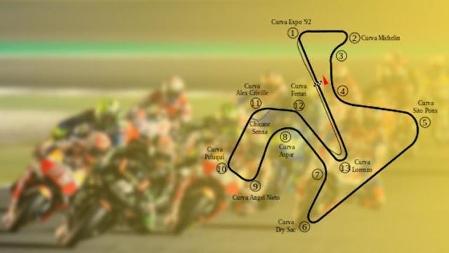 Dua pembalap Ducati dan satu pembalap Honda menjadi korban kecelakaan