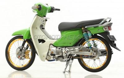 Modifikasi Honda Kirana 2005, Ala Super Cub Thailand