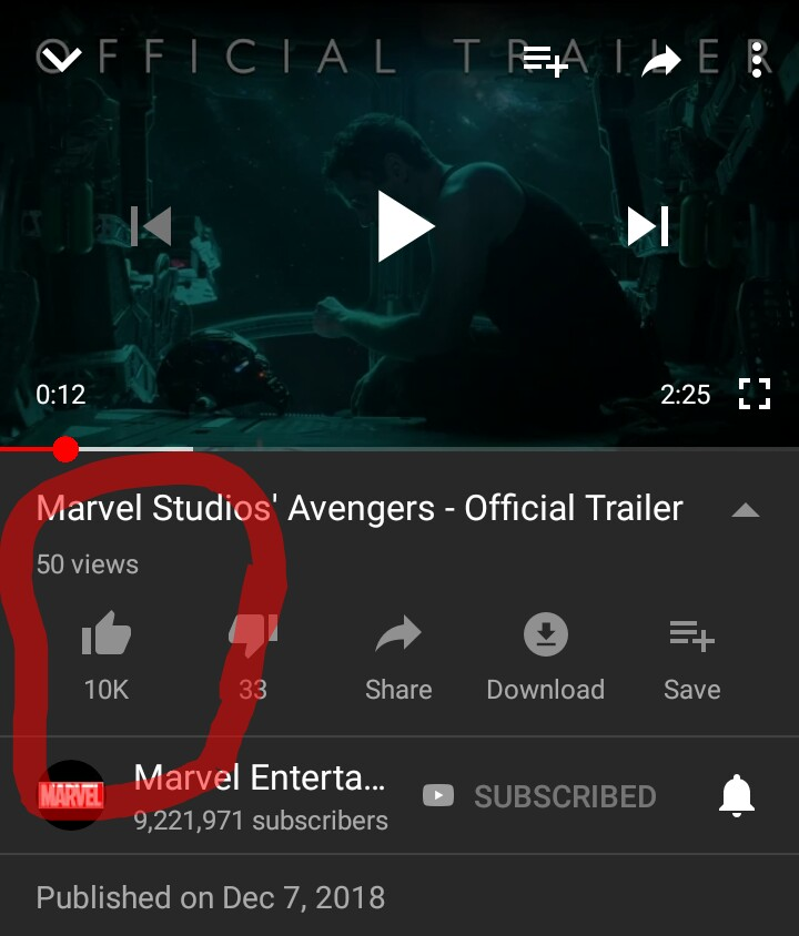 Avengers Endgame Trailer Breaks the internet