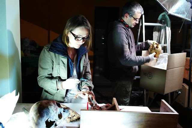 Remains of women from pre-Inca tomb studied