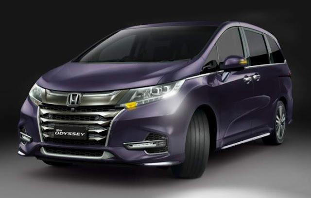 New_Honda_odyssey_2018