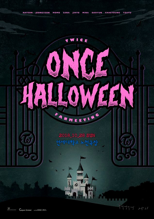 TWICE Will Hold Fanmeeting Themed Halloween To Celebrate 3rd Anniversary