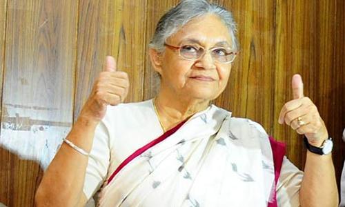 यूपी विधानसभा चुनाव : शीला दीक्षित होंगी पार्टी की मुख्यमंत्री उम्मीदवार