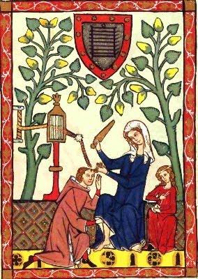 XIV-wieczny Codex Manesse