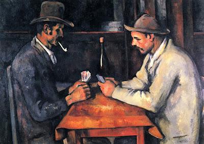 Os Jogadores de Carta, de Paul Cézanne ~ A pintura mais cara do mundo