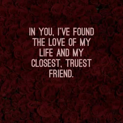 Boyfriend quotes and messages with romantic love
