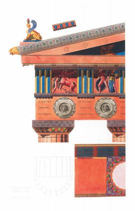Υφάσματα και πολυχρωμία στην αρχαία τέχνη και αρχιτεκτονική